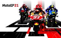 Free MotoGP 21 Wallpaper