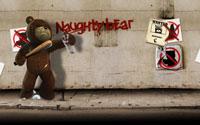Free Naughty Bear Wallpaper
