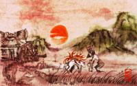 Free Okami Wallpaper