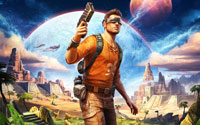 Free Outcast - Second Contact Wallpaper