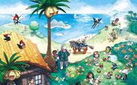 Free Pokémon Sun and Pokémon Moon Wallpaper