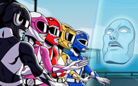 Free Mighty Morphin Power Rangers: Mega Battle Wallpaper