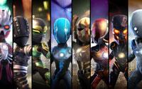 Free PowerUp Heroes Wallpaper
