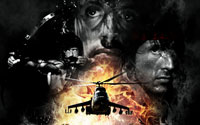 Free Rambo: The Video Game Wallpaper