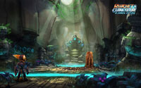 Free Ratchet & Clank Future: A Crack in Time Wallpaper