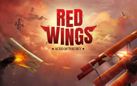 Free Red Wings: Aces of the Sky Wallpaper