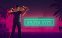 Free Skate City Wallpaper
