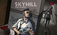 Free Skyhill Wallpaper