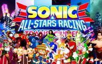 Free Sonic & All-Stars Racing Transformed Wallpaper