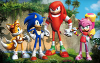 Free Sonic Boom Wallpaper
