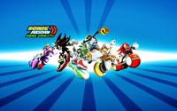Free Sonic Riders Wallpaper