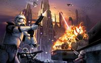 Free Star Wars Battlefront: Elite Squadron Wallpaper