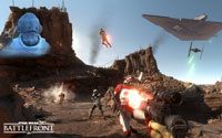 Free Star Wars: Battlefront Wallpaper