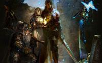 Free Stranger of Sword City Wallpaper