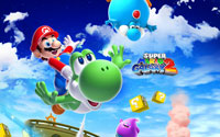 Free Super Mario Galaxy 2 Wallpaper