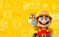 Free Super Mario Maker Wallpaper