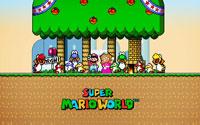 Free Super Mario World Wallpaper