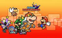 Free Super Paper Mario Wallpaper