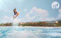 Free Surf World Series Wallpaper