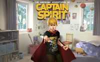 Free The Awesome Adventures of Captain Spirit Wallpaper