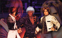 Free The King of Fighters 99 Wallpaper
