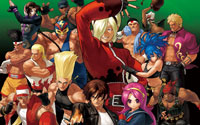 Free The King of Fighters XII Wallpaper