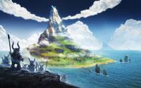 Free Valhalla Hills Wallpaper