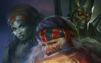 Free Warlock 2: The Exiled Wallpaper