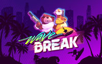 Free Wave Break Wallpaper