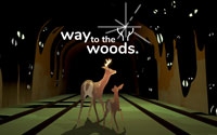 Free Way to the Woods Wallpaper