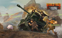 Free World War Toons Wallpaper