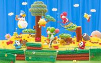 Free Yoshi's Woolly World Wallpaper