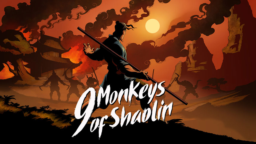 9 Monkeys of Shaolin Wallpapers