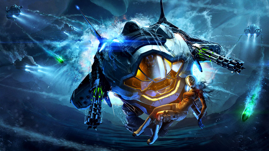 Free Aquanox Deep Descent Wallpapers