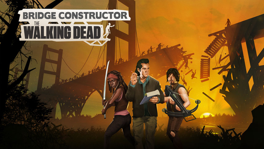 Free Bridge Constructor: The Walking Dead Wallpapers