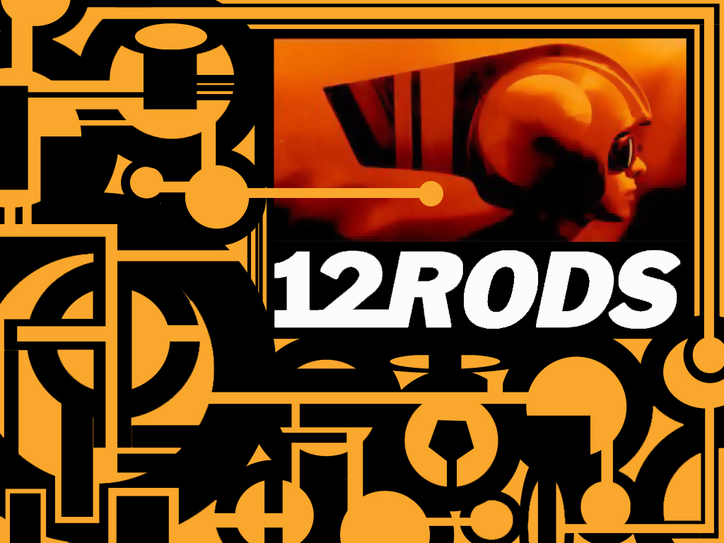 Abstract Wallpaper: 12 Rods