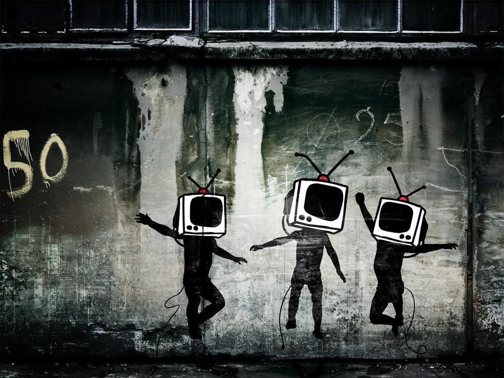 Abstract Wallpaper: 21st Century Digital Boys