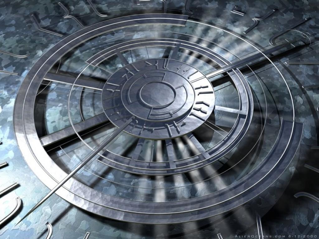 Abstract Wallpaper: Anachronometer