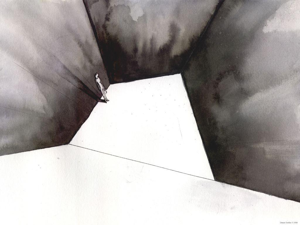 Abstract Wallpaper: Aussenvor