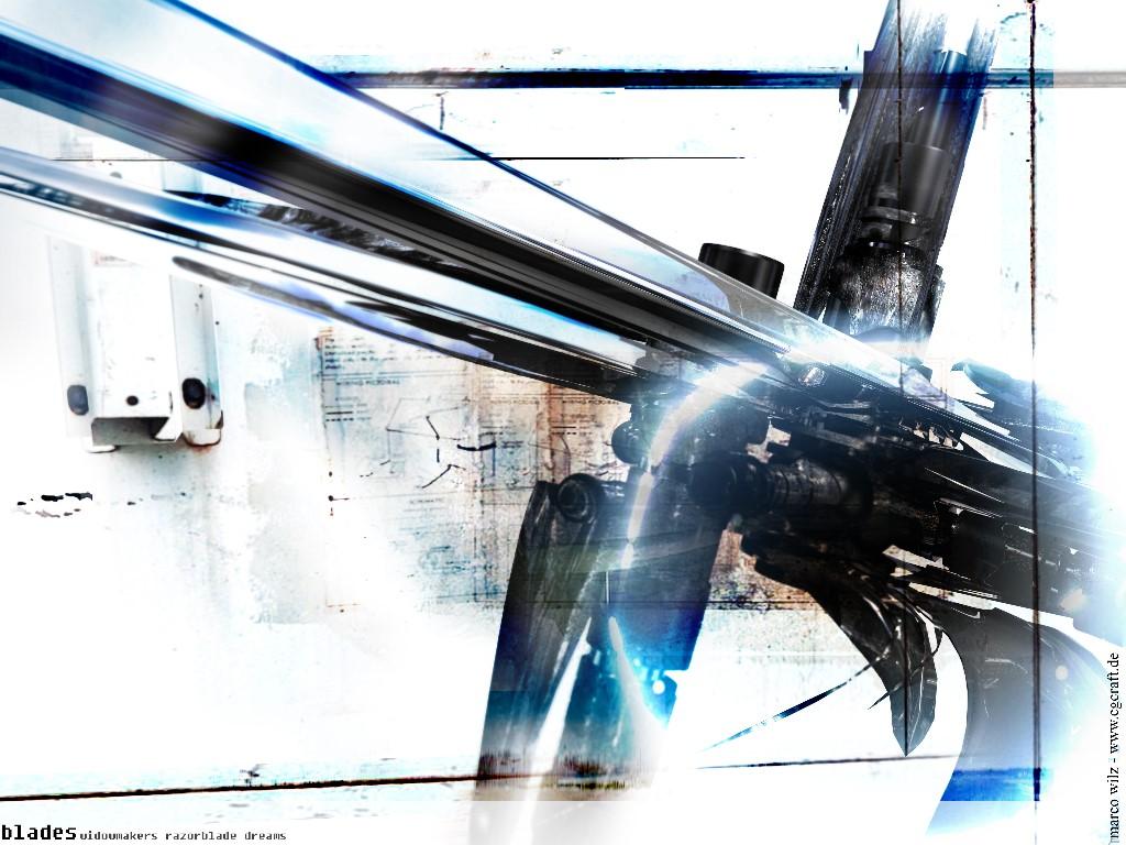 Abstract Wallpaper: Blades