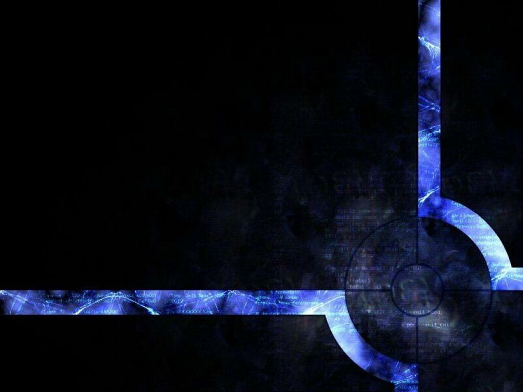 Abstract Wallpaper: Blue Target