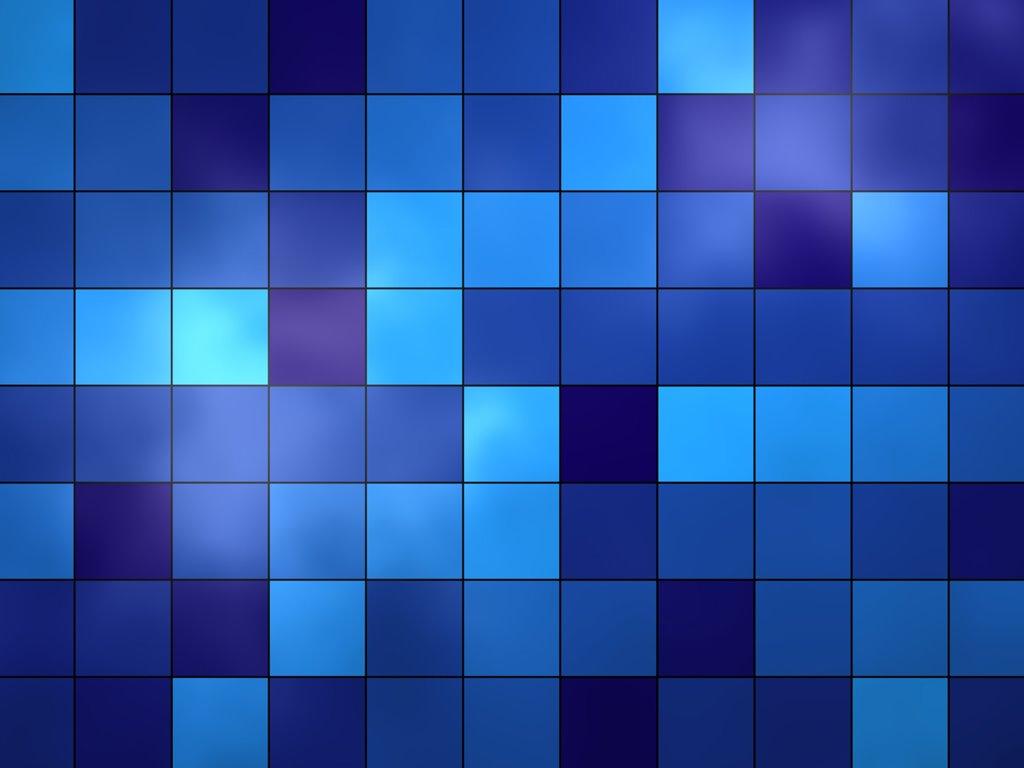 Abstract Wallpaper: Blue Tiles
