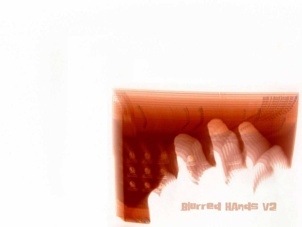 Abstract Wallpaper: Blurred Hands from Tim Coxon