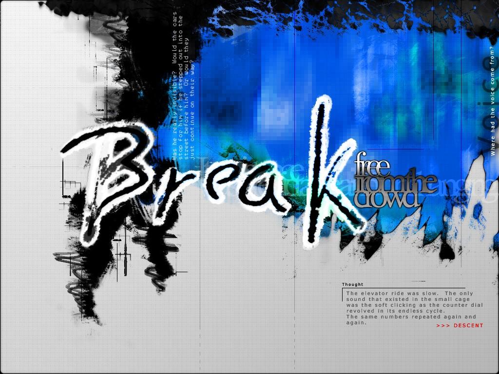 Abstract Wallpaper: Break