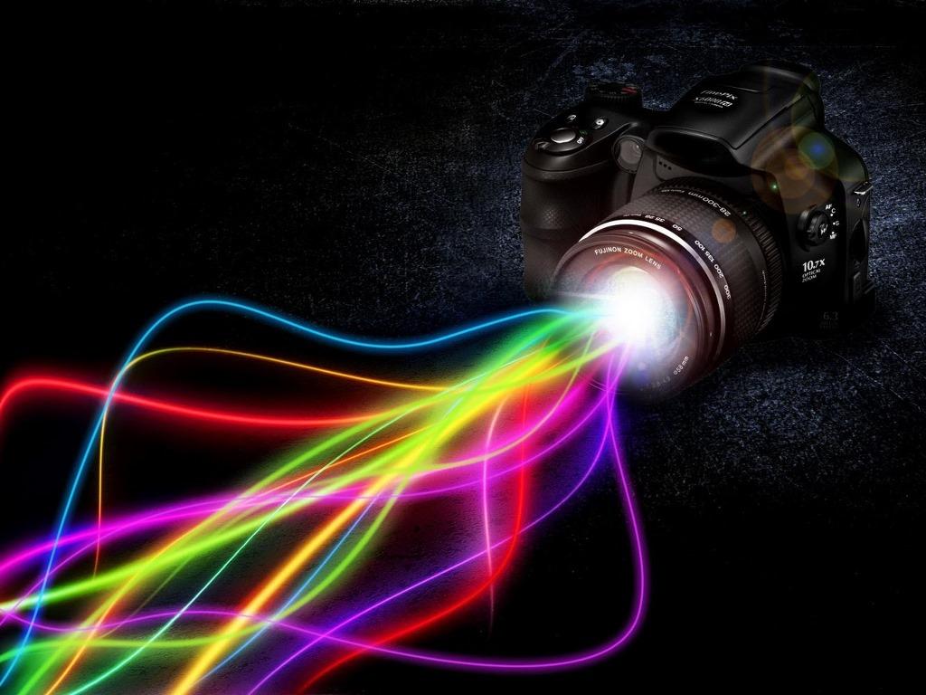 Papel de Parede Gratuito de Abstrato : Camera - Colors