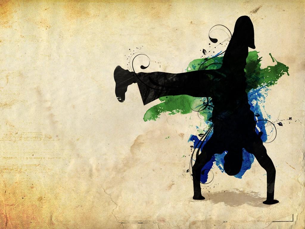 Abstract Wallpaper: Capoeira