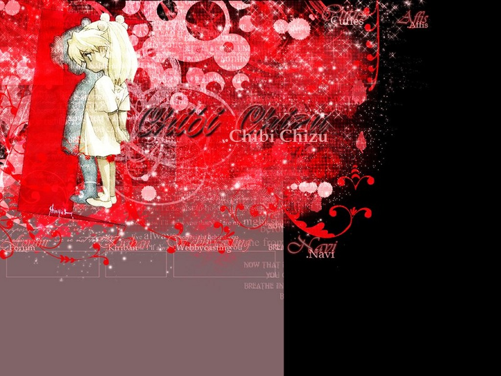 Abstract Wallpaper: Chibi Chizu