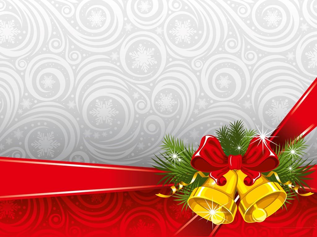 Abstract Wallpaper: Christmas Bells