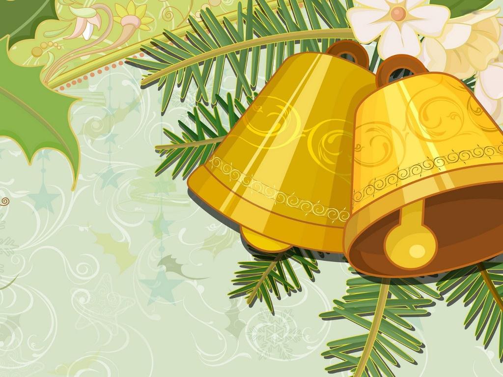 Abstract Wallpaper: Christmas - Bells