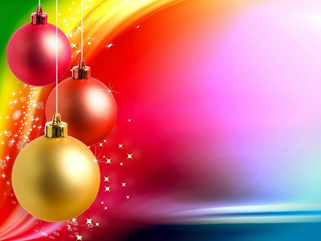 Abstract Wallpaper: Christmas - Colors